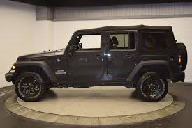 Used Jeep Wrangler Unlimited 2017 Used Jeep Wrangler Unlimited Sport 4x4 At Hudson Toyota