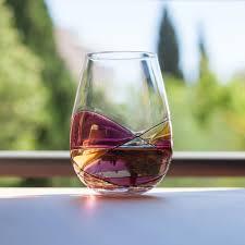 antoni barcelona u0027sagrada u0027 stemless wine glasses