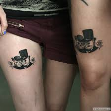 100 awesome couple tattoos best disney couple tattoos