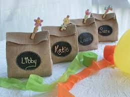 burlap party favor bags sets of 8 9 10 or 11 burlap party gift bags with re useable