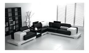 canape d angle noir canape d angle blanc et noir canapac dangle noir et blanc marabella