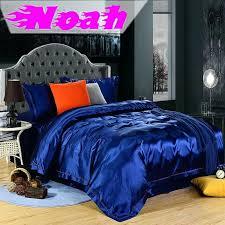 Silk Crib Bedding Set Royal Blue Bedmasculine Master Bedroom Contemporary Bedroom Royal
