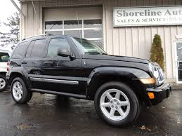 liberty jeep 2007 2007 jeep liberty limited edition shoreline auto sales
