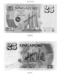 Twenty Five Dollars Singapore Statutes Online 7 Currency Notes And Coins
