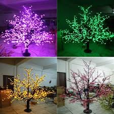 outdoor lighted cherry blossom tree 1536leds 200cm outdoor led cherry blossom tree light for christmas