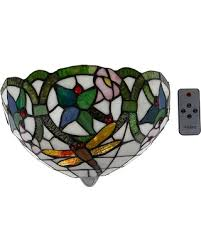 Stained Glass Wall Sconce New Savings On It S Exciting Lighting Battery Powered Wall Sconce