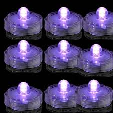 bright led floral submersible led lights battery operated