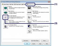 resetter printer canon ip2770 per ip2700 canon knowledge base align the print head ip2700