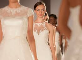 21 lovely illusion necklines from the 2014 bridal market
