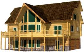 cabin style home plans lodge style log home plans