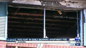 Fires In Denver by 5 People Hurt In Early Morning Apartment Fire In Aurora Youtube
