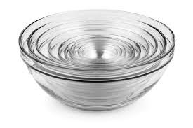 duralex lys nesting glass bowl set piece cutlery and more piece