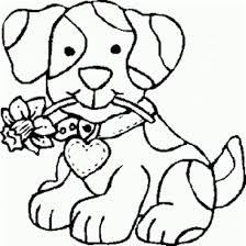 image draw puppy coloring pages 41 on online with puppy