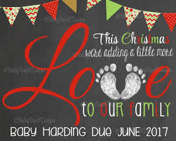 christmas pregnancy announcement announcing a christmas baby sinay info