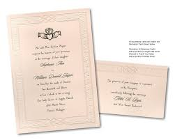 celtic wedding invitations cloveranddot com