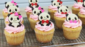 Halloween Baby Shower Cupcakes by 28 Panda Cupcakes Cookies And Cakes To Celebrate With