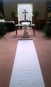 white aisle runner 150ft white fabric wedding aisle runner 41 99 picclick