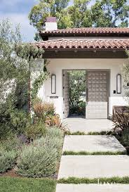 Spanish Style Homes With Interior Courtyards 116 Best Fence U0026 Gate Images On Pinterest Garden Ideas Doors