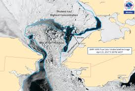 Alaska Rivers Map by Alaska Sea Ice Program Satellite Resource Info
