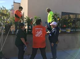 fremont elks local beautification project w home depot