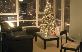Christmas Decoration For Less by The Key To Condo Holiday Decorating Is Streamlining Christmas