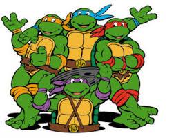 ninja turtle iron etsy