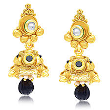 earrings online shopping fashion polki danglers pearl