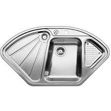 Blanco DeltaIF Stainless Steel Kitchen Sink - Kitchen sinks blanco