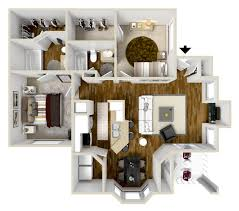 Pebble Creek Floor Plans 1 2 3 Bedroom Apartments For Rent In League City Tx Riverbend