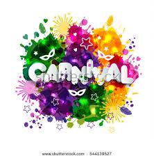 colors for mardi gras illustration carnival mardi gras on multicolors stock vector