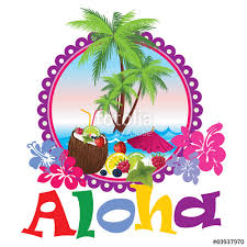 Hawaii travel clipart images Aloha hawaii beach travel concept quot stock image and royalty free jpg