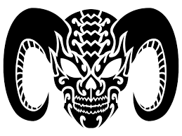 tribal skull tattoos png transparent images 30733 free icons