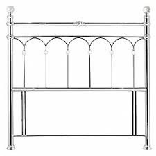 Silver Metal Headboards by Beds For Everyone Silver Metal Hb