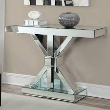 Mirror Console Table Modern Mirrored Console Table Mirror Ideas Modern And