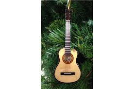 broadway gifts acoustic guitar ornament heid
