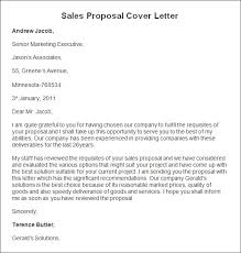 gallery of sales proposal cover letter rfp proposal cover letter