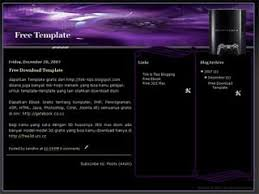 free blogger template xml blogger template ps3