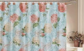 Vintage Shower Curtain 13 Piece Shower Curtain Set