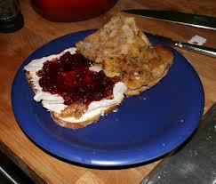 file thanksgiving leftover sandwich open faced jpg wikimedia commons