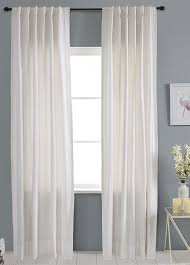 White Faux Silk Curtains P550 White Faux Silk Curtain Use Discount Code You Pay 1 2