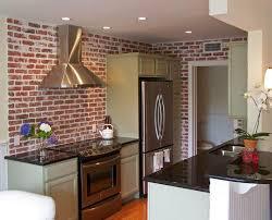 faux brick kitchen backsplash faux brick kitchen backsplash savary homes