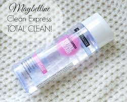 maybelline clean express total clean eye and lip makeup remover review
