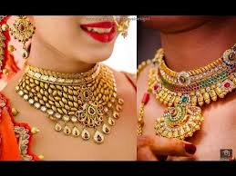 wedding necklace designs wedding jewellery designs for indian brides 2017