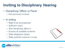 how to effectively conduct investigations and disciplinary