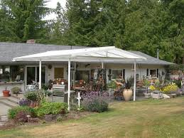 Patio Covers Seattle Low Pitch Gable Style Patio Cover Farmhouse Patio Seattle