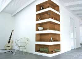 Wood Shelves Build by Best 25 Corner Wall Shelves Ideas On Pinterest Shelves Corner