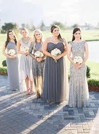 silver bridesmaid dresses sparkling silver bridesmaid dresses polka dot