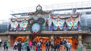 disneyland paris christmas season begins hd videos of all