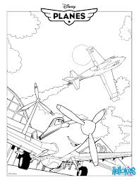 dusty crophopper planes movie coloring pages hellokids