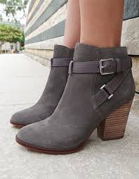 click to buy personality ankle boots low heel sky ankle gray and clothes